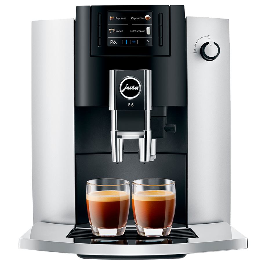 Кофемашина JURA E6 Platinum